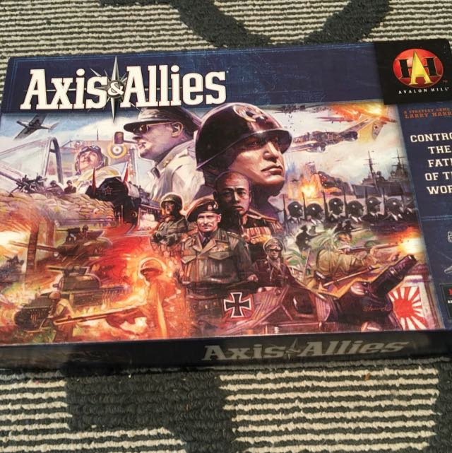 Axis and Allies Board Game