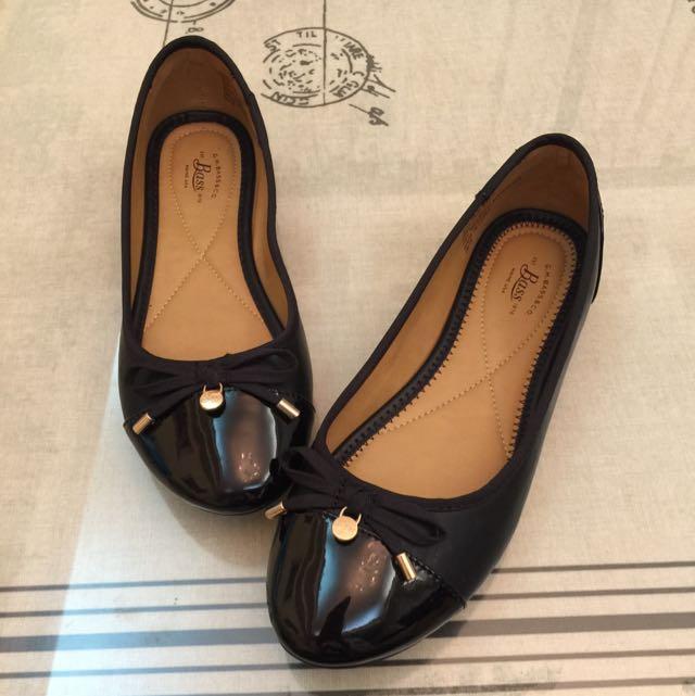 全新美國品牌Bass黑色娃娃鞋6.5