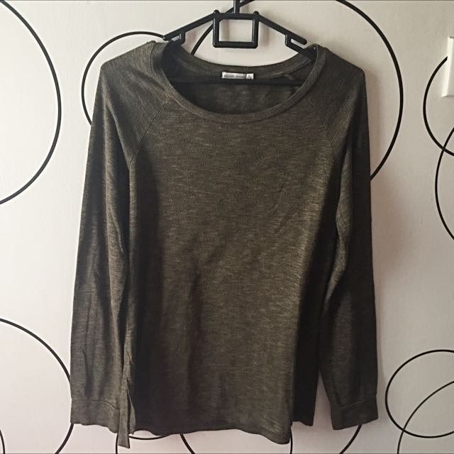 Bershka Basic Long Sleeve