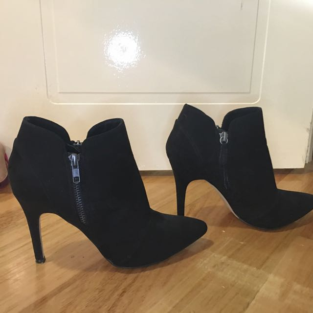 Betts Swede Ankle Boots