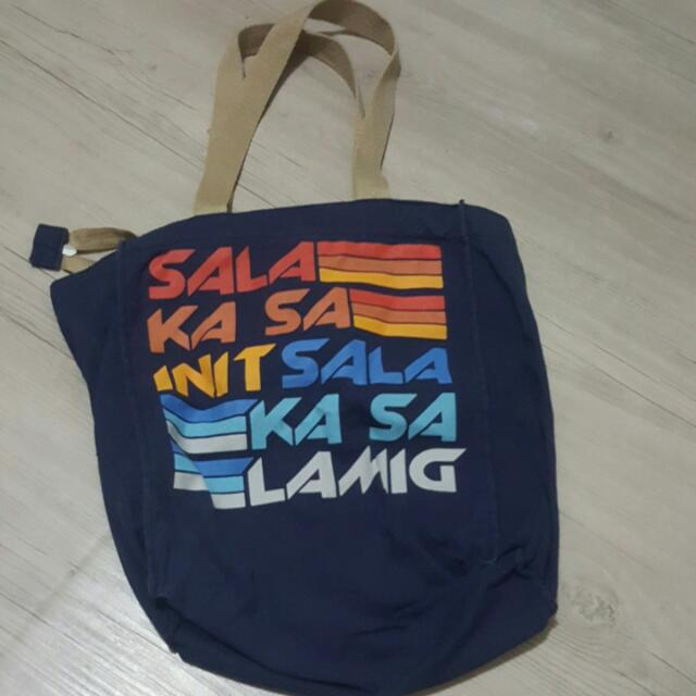 Blue Artwork Bag!
