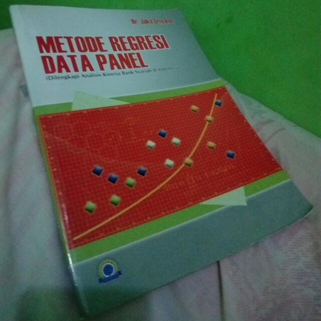 Buku Statistik Metode Regresi Data Panel