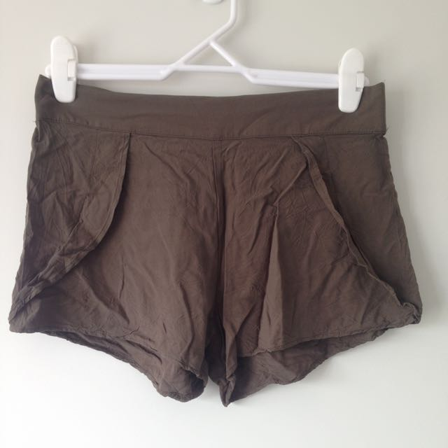 Camo Green Shorts