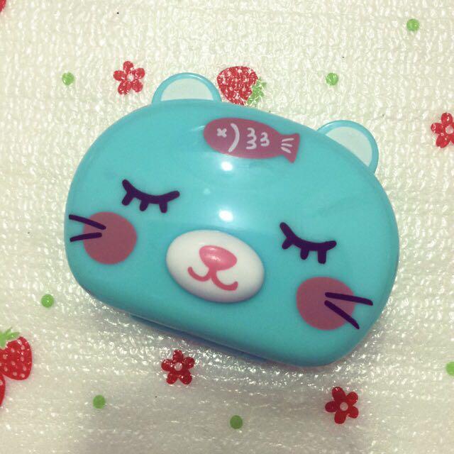 Cat Contact Lens Case