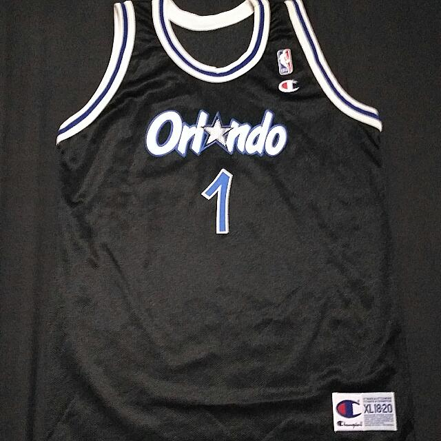 Champion Anfernee Penny Hardaway 1 Orlando Magic Jersey