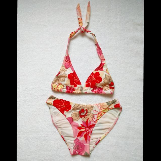 Code: A9 Floral Swimsuit