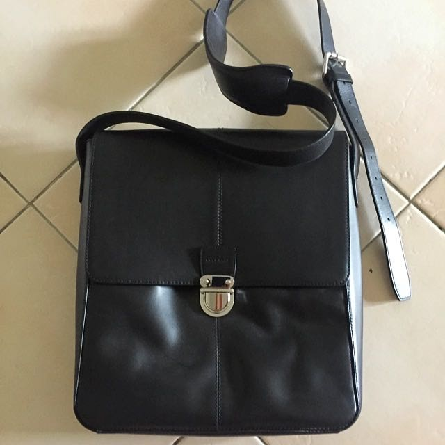 0e8eb5767a1 Cole Haan Sling Leather Bag, Luxury, Bags & Wallets on Carousell