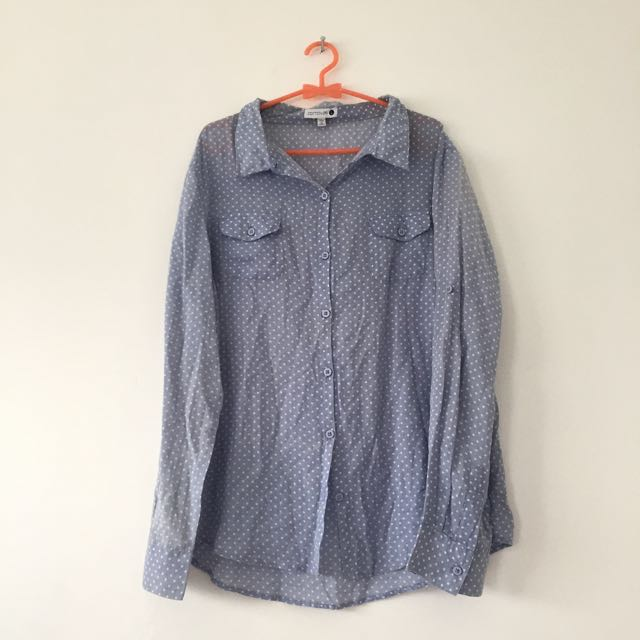 Cotton On Blue Shirt