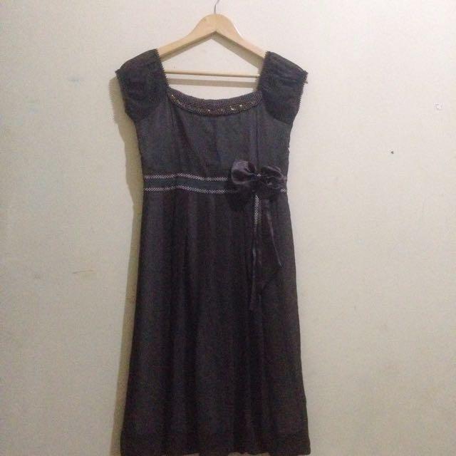 Dress Semi Formal Brown