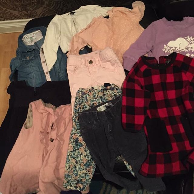 EUC Brand Name 12-18 Mo Girls Clothing Lot
