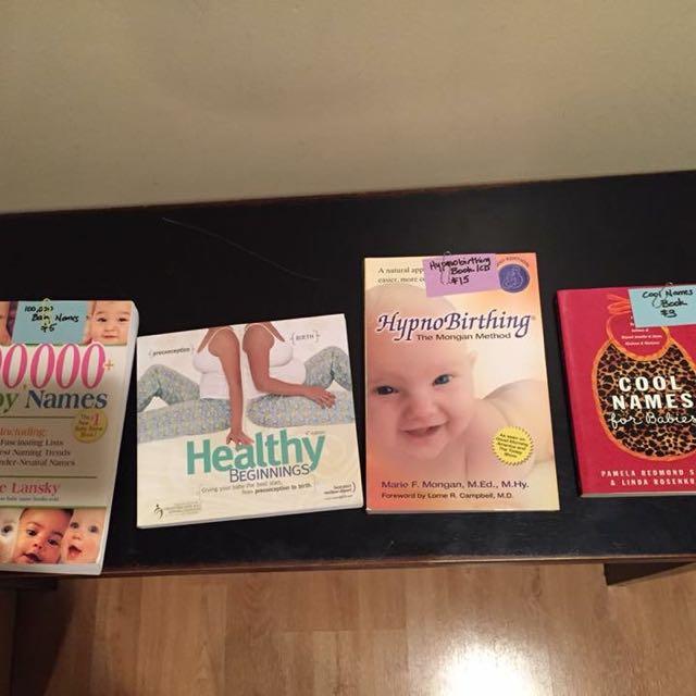 EUC Pregnancy Books