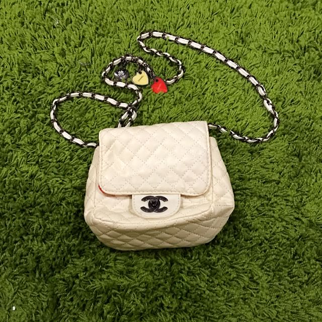 Faux Chanel Side bag