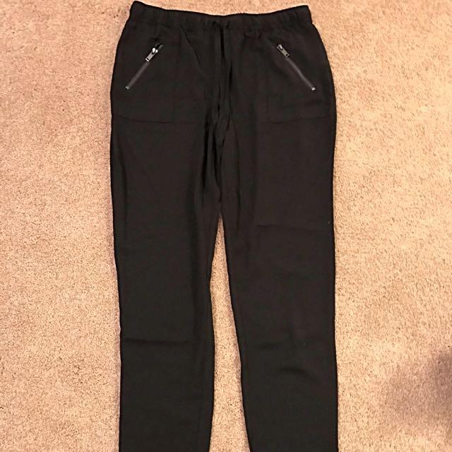 Forever 21 Dressy Jogger Pants