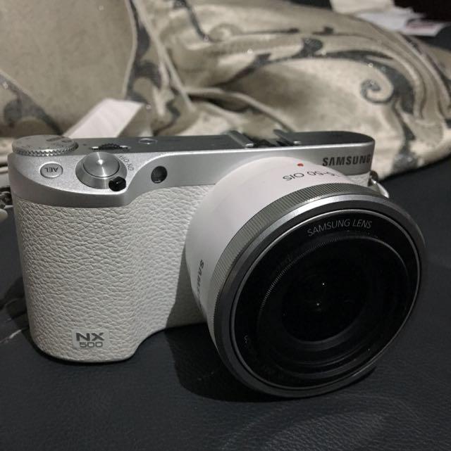 Reprice! Full Set Samsung NX500