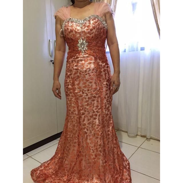 SALE/RENT Gaun Pesta Mama/ Mother Wedding Gown/Long Dress