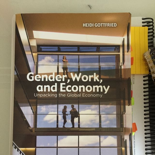 Gender, Work And Economy