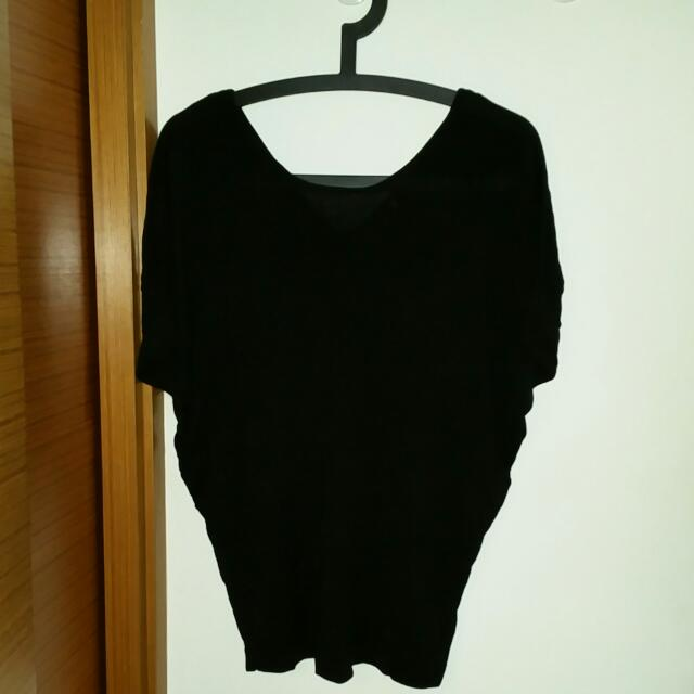 c27d67209bbb4c Giordano Ladies Batwing Top With V Back, Women's Fashion, Clothes ...