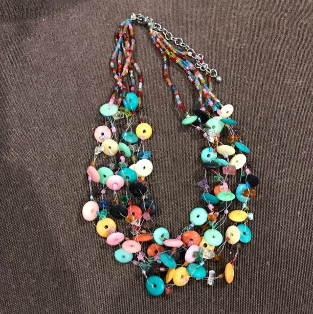 Hand Made Beaded Necklace