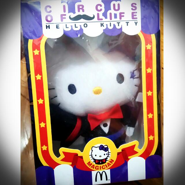 魔術師💖Hello Kitty 麥當勞玩偶收集💖