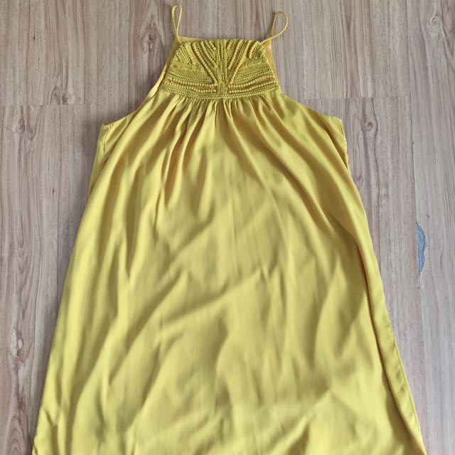 H&M Yellow Tent Dress