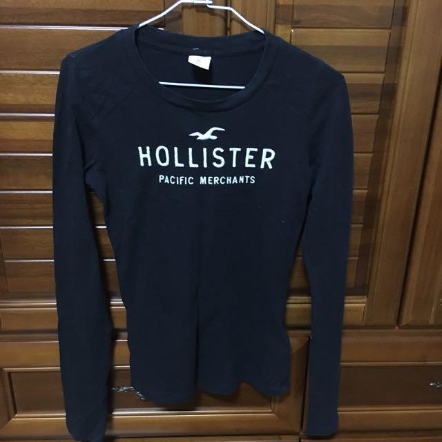 Hollister 長袖棉T