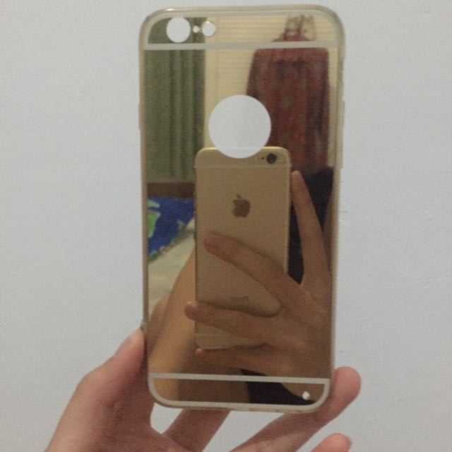 iPhone 6/6s Mirror Case (Gold)