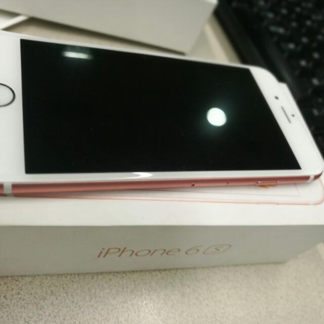 Iphone 6s (rosegold)
