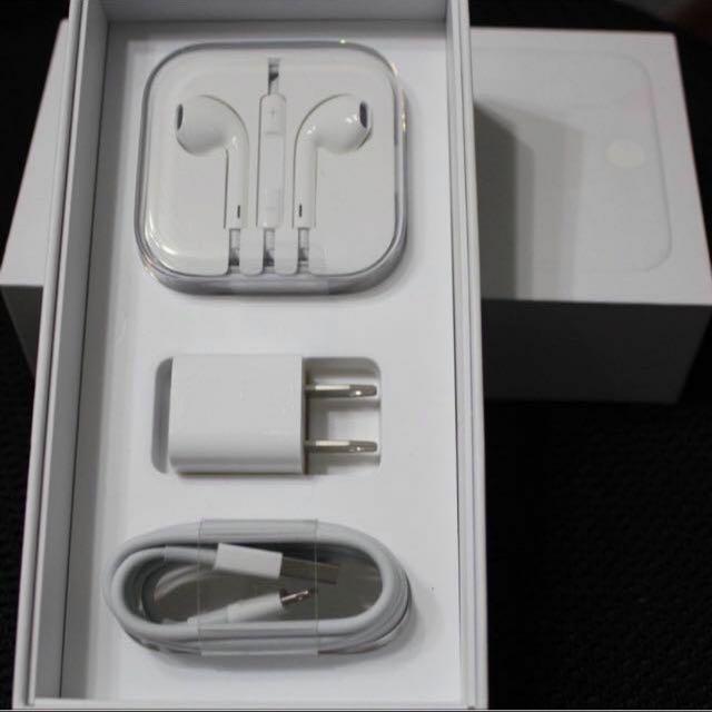 iPhone 原廠配件 耳機 充電器 豆腐頭