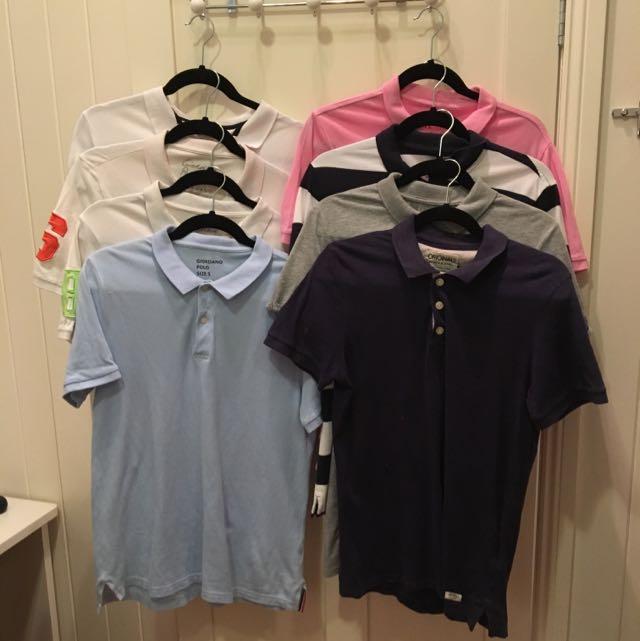 Jack And Jones, Giordano, ASOS Polo Shirts
