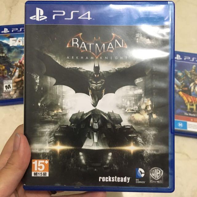 Kaset Batman Ps4