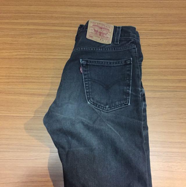 Levi's 短褲 深灰色