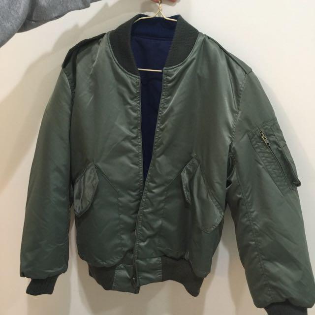 MA1雙面外套