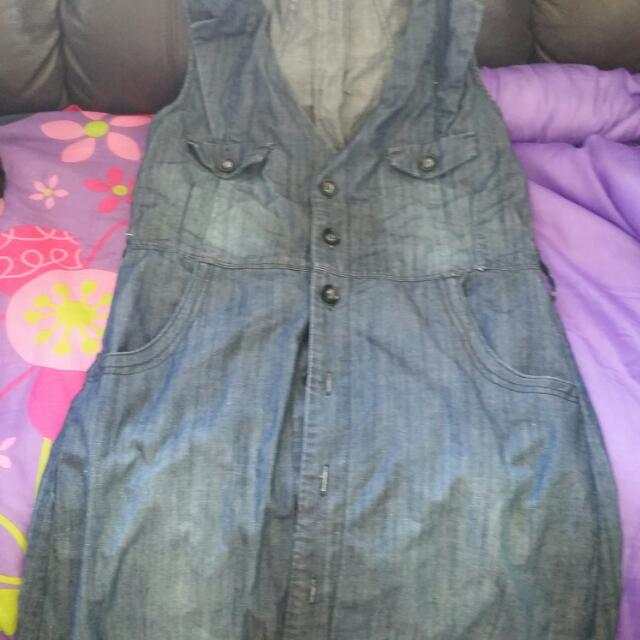 Max Denim Dress Size 12