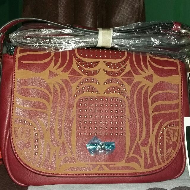 Michaela Leather Bag