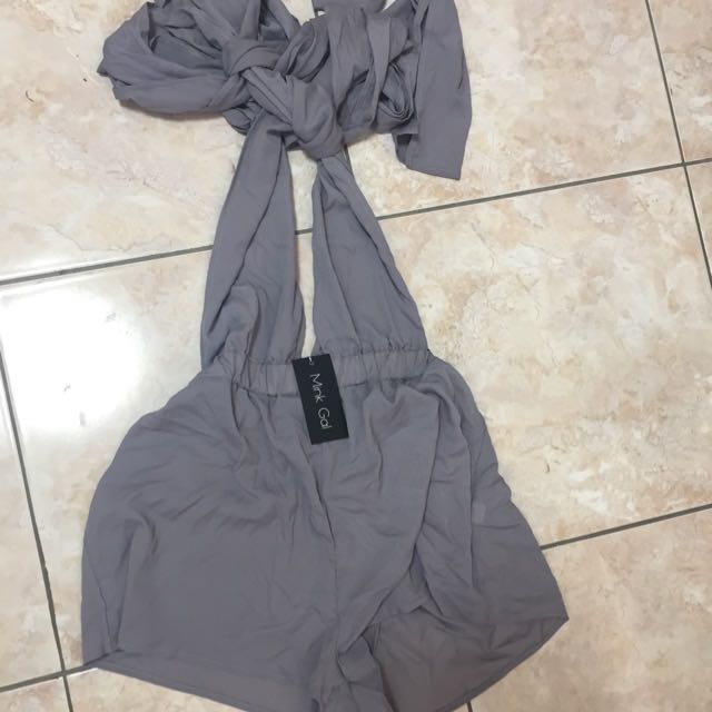 Mink Gal Jumpsuit Brand New Size S