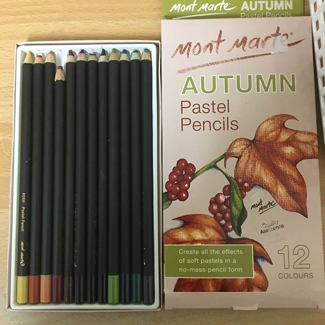 Mont Marte Colour Pencils