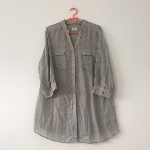 M&S Grey Shirt