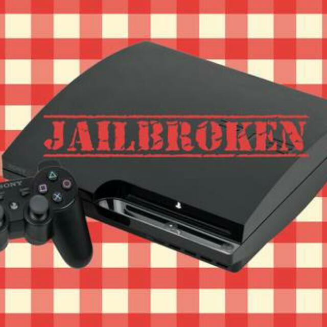 MUST SEE* JAILBROKEN PS3 WITH OVER 10,000 GAMES ON THE