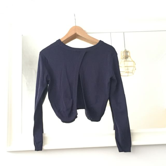 Navy Crop Jumper