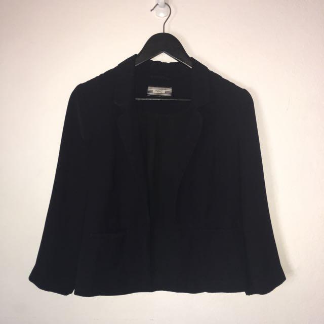 Next Black Womens Blazer UK size 8
