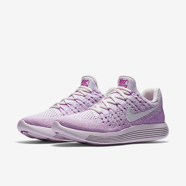 best service b1c3b 3b8d0 Nike Lunarepic Low Flyknit 2 IWD (Women) - Light VioletHyper  VioletFuchsia GlowWhite, Womens Fashion, Shoes on Carousell
