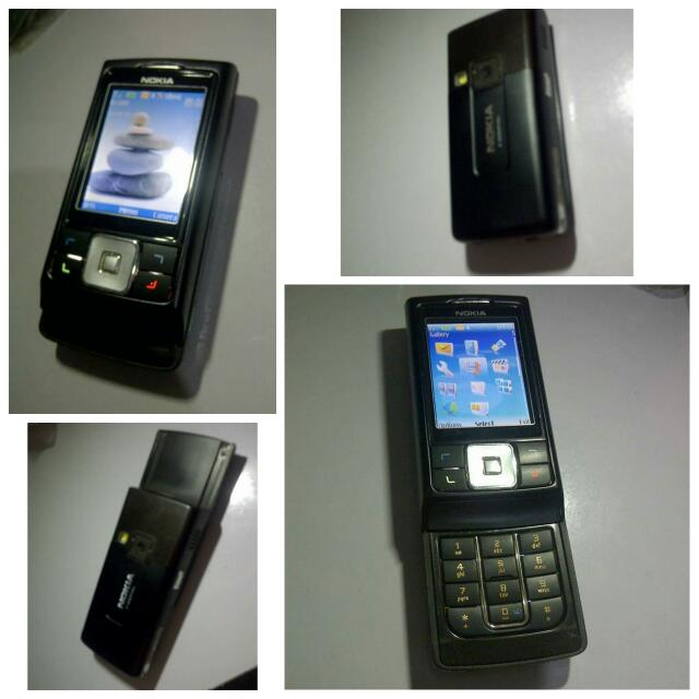 Nokia 6270 slide up with charger