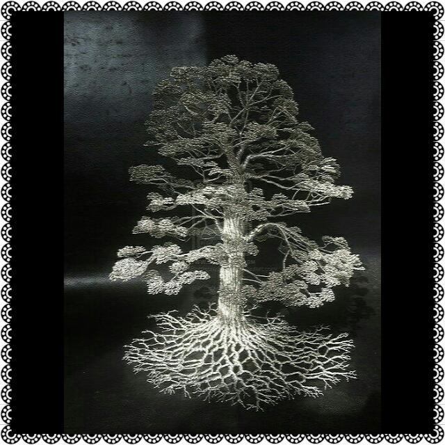 Pajangan Berbentuk Pohon