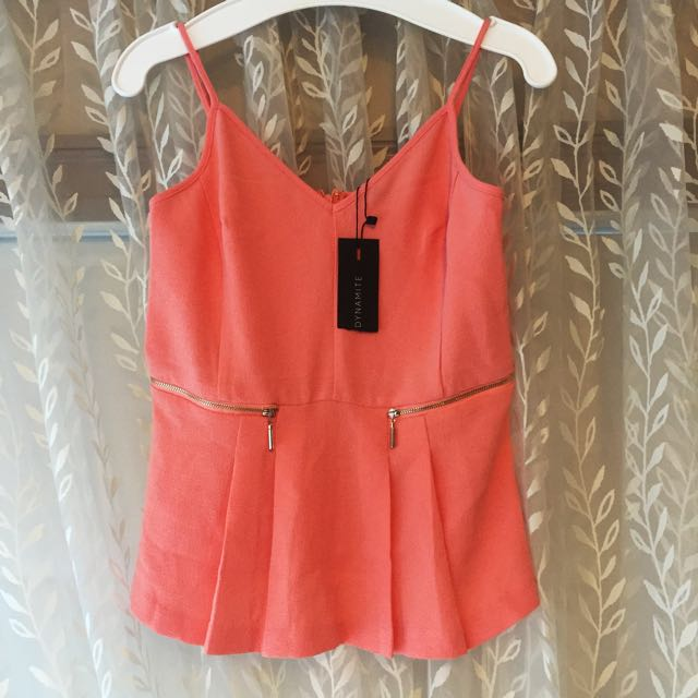 Peach Tank Top From Dynamic