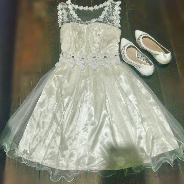 Petit Monde Lacy Dress