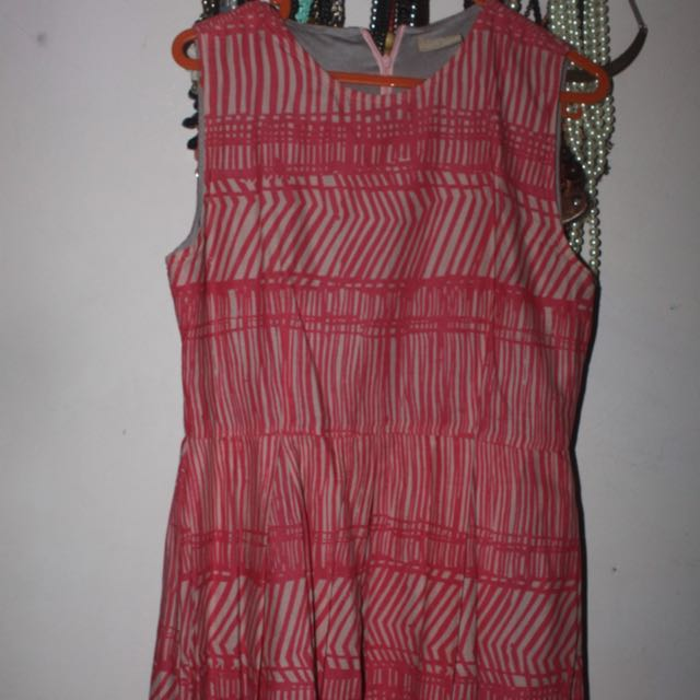 PICNIC Orange A-line Dress