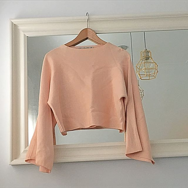 Pink Bat Wing Jumper