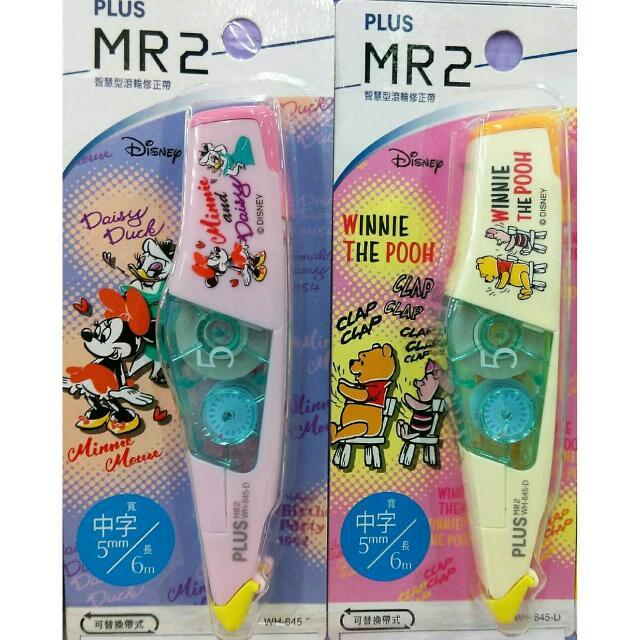【全新】PLUS MR2 智慧型滾輪修正帶  迪士尼系列 共四款(怪獸大學、米奇、米妮、小熊維尼)