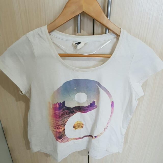 Pre-loved Cotton On Crop Top