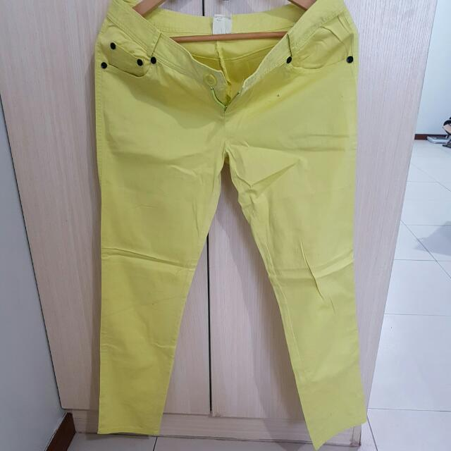 Pre-loved Yellow Pants